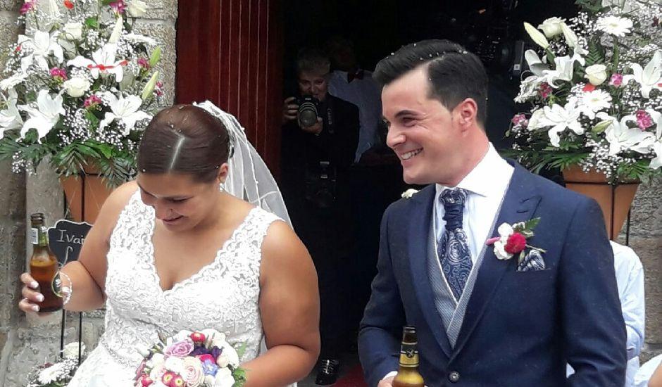 La boda de Iván y Lorena en Iglesario (Oseiro), A Coruña