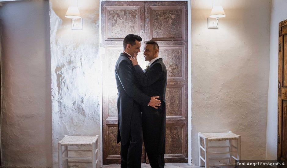 La boda de Chus y Pere en Vilanova Del Valles, Barcelona