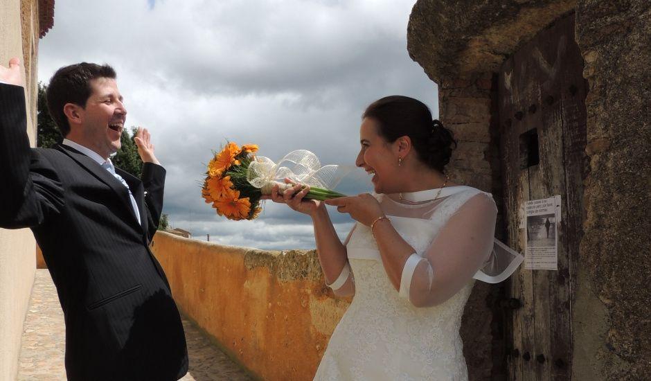 La boda de Javier y Amparo en Ciudad Rodrigo, Salamanca