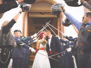La boda de Nazareth y Simon