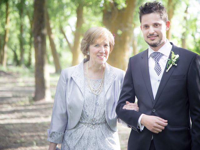 La boda de Manuel y Alicia en Saelices, Cuenca 11