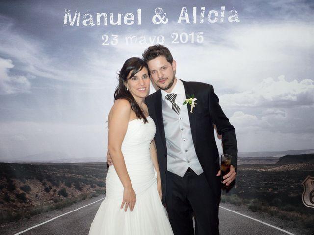 La boda de Manuel y Alicia en Saelices, Cuenca 25