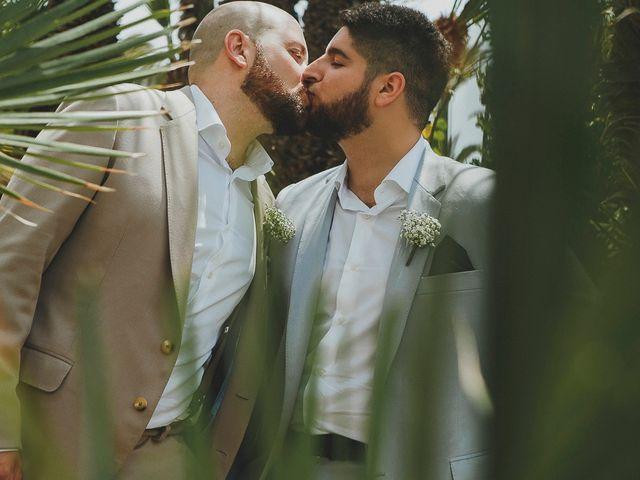 La boda de Julián y Tole en Xàbia/jávea, Alicante 17