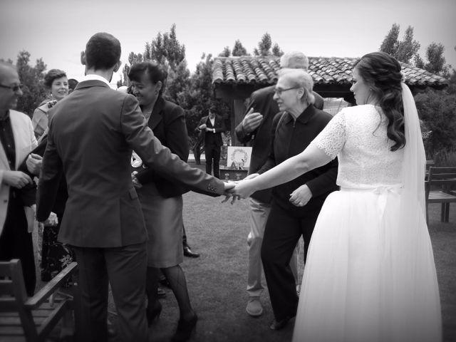 La boda de Alberto y Raquel en Villalibado, Burgos 8