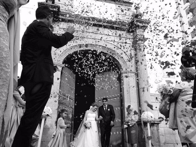 La boda de David  y Nieves  en Casar De Palomero, Cáceres 2