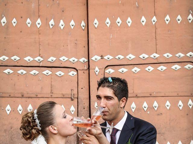 La boda de David  y Nieves  en Casar De Palomero, Cáceres 17
