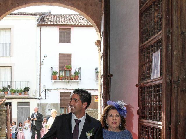La boda de David  y Nieves  en Casar De Palomero, Cáceres 21