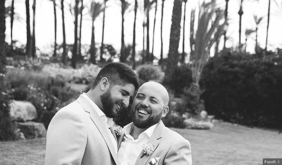 La boda de Julián y Tole en Xàbia/jávea, Alicante