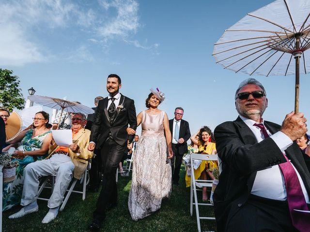 La boda de Ricardo y Maria en Valdemorillo, Madrid 1