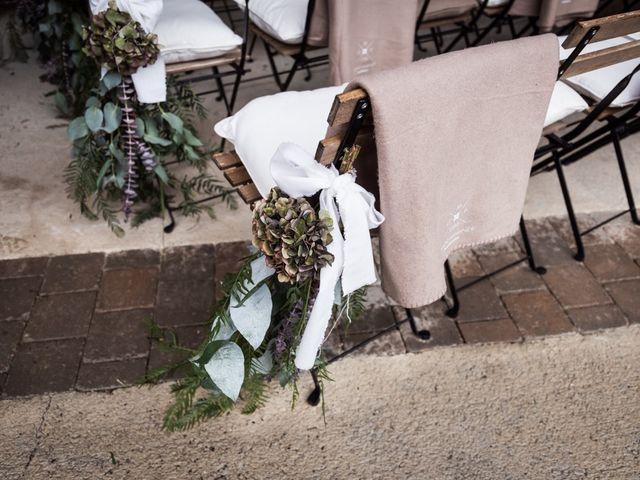 La boda de Dani y Estel en Sant Pau De Seguries, Girona 26