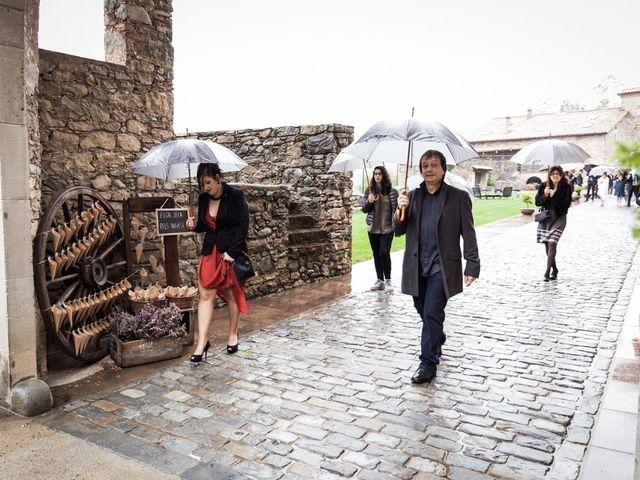 La boda de Dani y Estel en Sant Pau De Seguries, Girona 29
