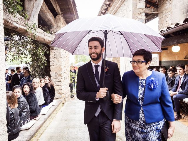 La boda de Dani y Estel en Sant Pau De Seguries, Girona 32