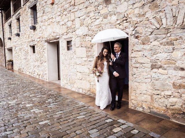 La boda de Dani y Estel en Sant Pau De Seguries, Girona 34