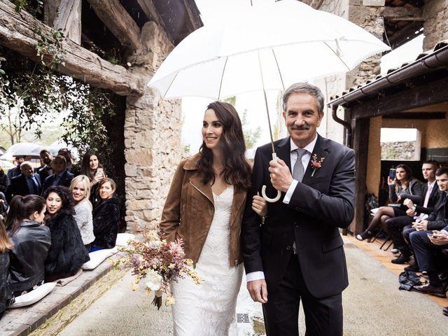 La boda de Dani y Estel en Sant Pau De Seguries, Girona 36