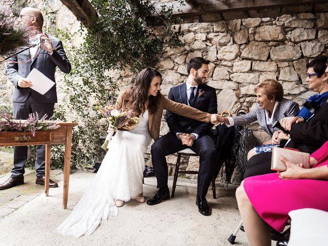 La boda de Dani y Estel en Sant Pau De Seguries, Girona 37