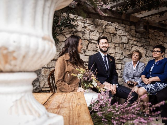 La boda de Dani y Estel en Sant Pau De Seguries, Girona 38