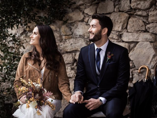 La boda de Dani y Estel en Sant Pau De Seguries, Girona 39