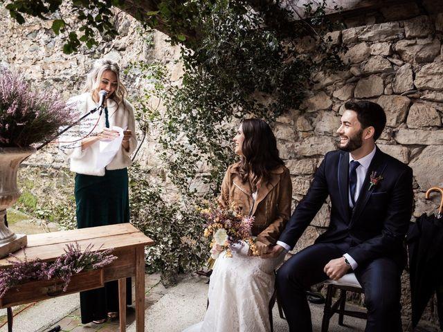 La boda de Dani y Estel en Sant Pau De Seguries, Girona 40