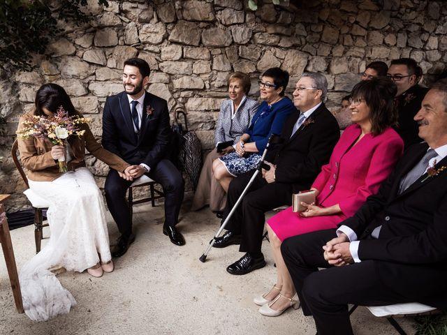 La boda de Dani y Estel en Sant Pau De Seguries, Girona 42