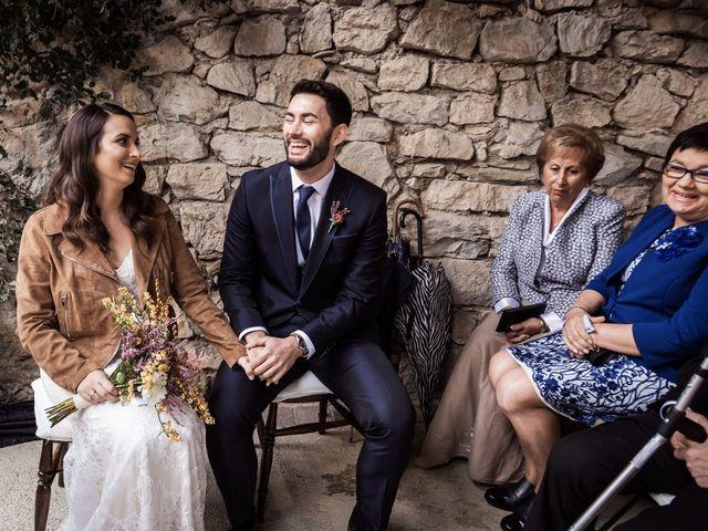 La boda de Dani y Estel en Sant Pau De Seguries, Girona 43