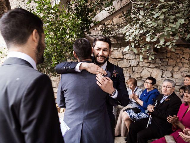 La boda de Dani y Estel en Sant Pau De Seguries, Girona 45