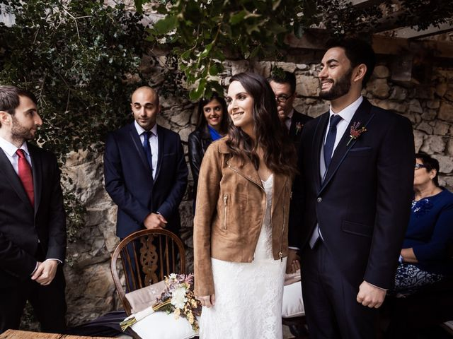 La boda de Dani y Estel en Sant Pau De Seguries, Girona 46