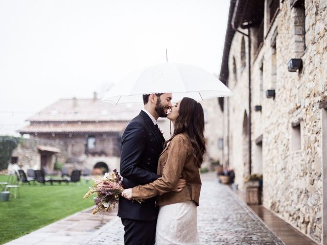 La boda de Dani y Estel en Sant Pau De Seguries, Girona 57