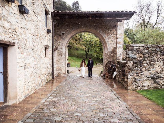 La boda de Dani y Estel en Sant Pau De Seguries, Girona 59