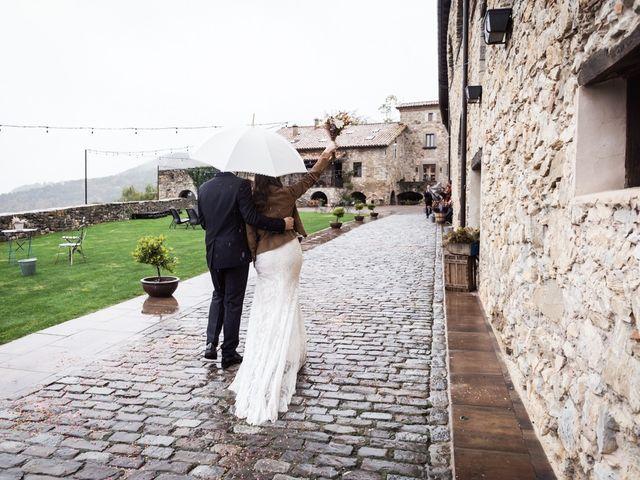 La boda de Dani y Estel en Sant Pau De Seguries, Girona 63