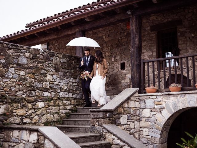 La boda de Dani y Estel en Sant Pau De Seguries, Girona 88