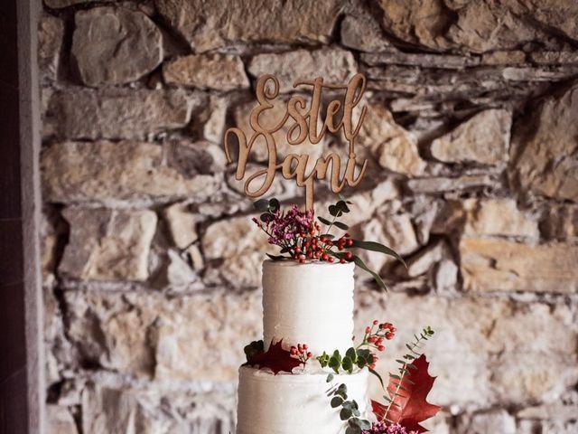 La boda de Dani y Estel en Sant Pau De Seguries, Girona 90