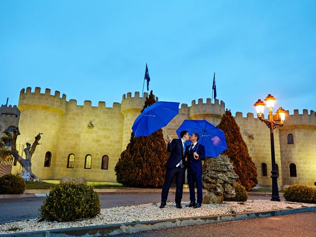 La boda de Jose y George en Zaragoza, Zaragoza 1