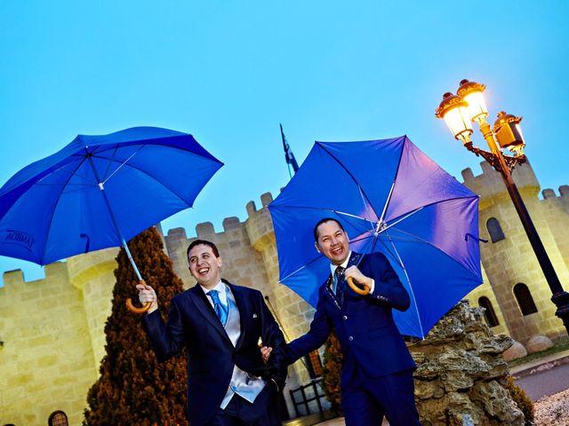 La boda de Jose y George en Zaragoza, Zaragoza 14