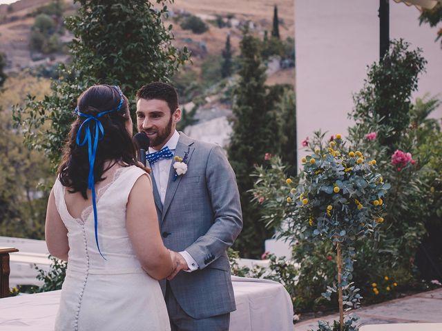 La boda de Luis y Laura en Granada, Granada 12