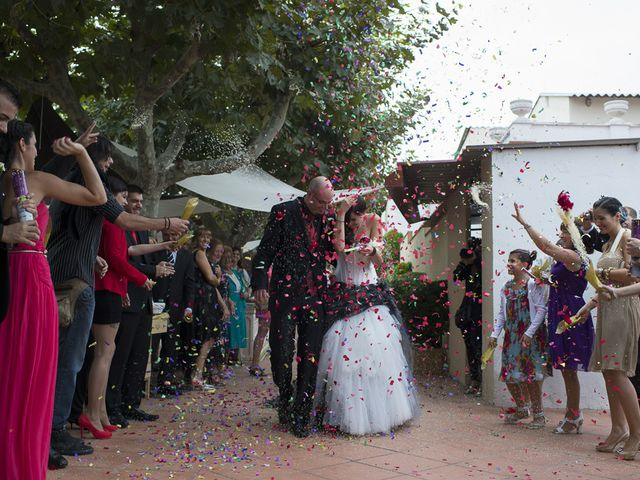 La boda de Raúl y Montse en L' Ametlla Del Valles, Barcelona 79