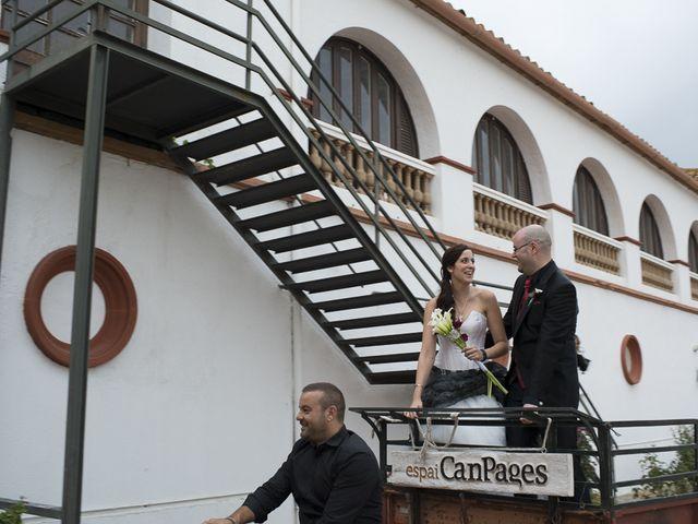 La boda de Raúl y Montse en L' Ametlla Del Valles, Barcelona 99