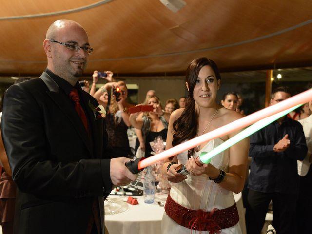 La boda de Raúl y Montse en L' Ametlla Del Valles, Barcelona 107