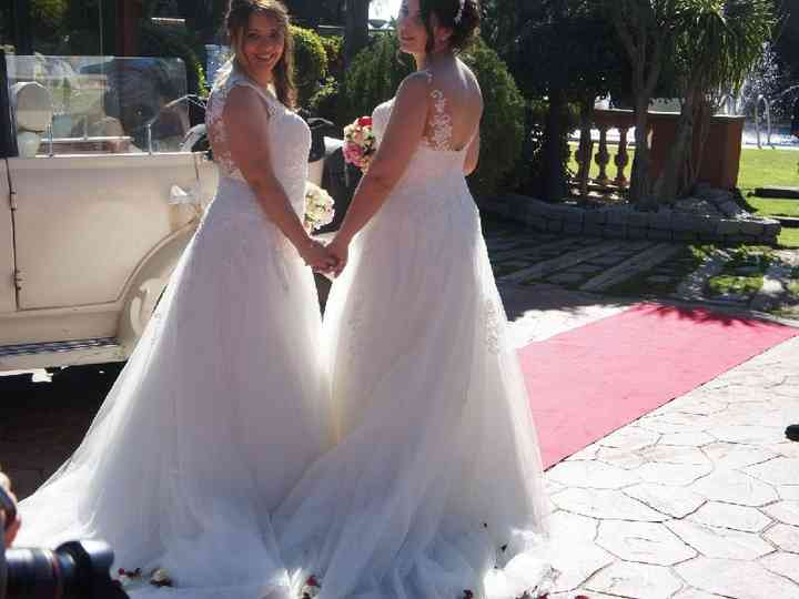 La boda de Miriam y Marta
