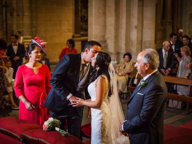 La boda de Alejandro y Victoria en Salamanca, Salamanca 43