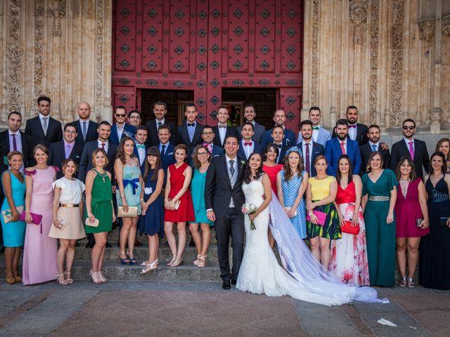 La boda de Alejandro y Victoria en Salamanca, Salamanca 52