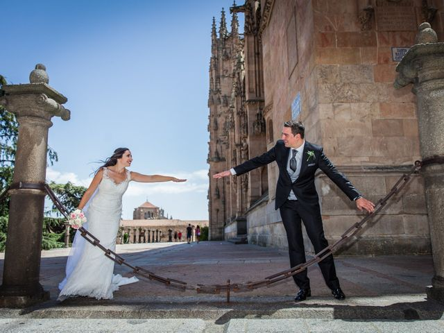 La boda de Alejandro y Victoria en Salamanca, Salamanca 54