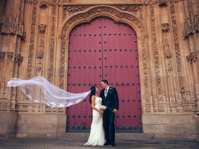 La boda de Alejandro y Victoria en Salamanca, Salamanca 55