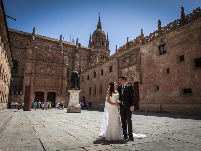 La boda de Alejandro y Victoria en Salamanca, Salamanca 57