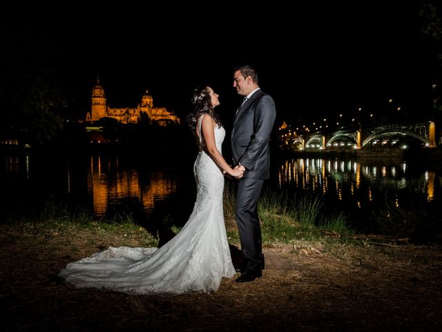 La boda de Alejandro y Victoria en Salamanca, Salamanca 74