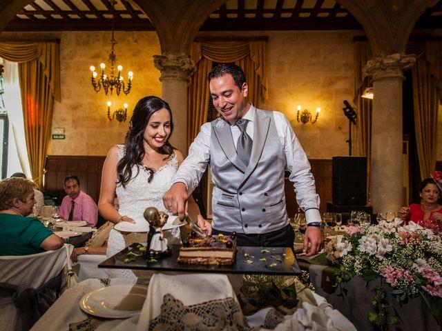 La boda de Alejandro y Victoria en Salamanca, Salamanca 85