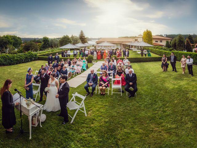 La boda de Pamela y Adonis en Abegondo, A Coruña 37