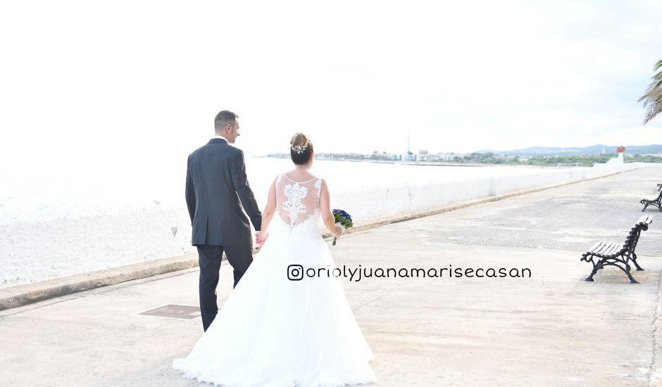 La boda de Oriol y Juana Mari en Vilanova I La Geltru, Barcelona