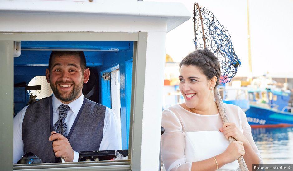 La boda de Marcos y Lorena en Santiago De Compostela, A Coruña