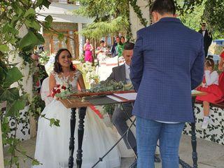 La boda de Janira  y Constan