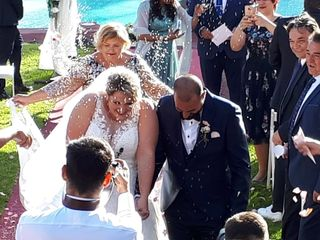 La boda de Céline y Fran